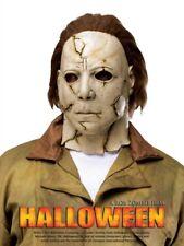 Authentisch aussehende Latex Maske Michael Myers Horror Halloween Narben Killer