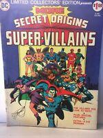 DC Comics Limited Collector's Edition  More Secret Origins Super-Villains, VG+