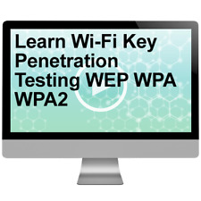 Learn Wi-Fi Key Penetration Testing WEP WPA WPA2 Video Training Course