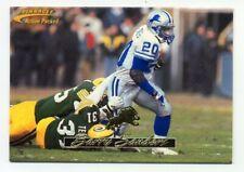 1996 Action Packed BARRY SANDERS HOF EMBOSSED FOOTBALL CARD #51 Detroit Lions