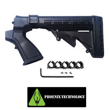 MOSSBERG 500 590 835 20GA Phoenix 6 Pos Tactical Shotgun Stock FST06