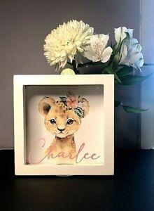 Personalised Money Box  Baby Christening Gift  Birthday gift  Any Name / Design