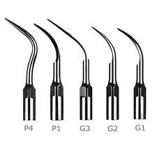 Dental Ultrasonic Piezo Scaler Scaling Tips G1 G2 G3 P1 P4 for Woodpecker EMS