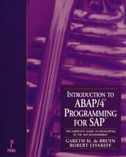 Introduction to ABAP/4 Programming for SAP : The Complete Guide to Developing in