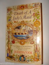 Casebook of Dr Simon Forman mystery Death of a Lady's Maid by Judith Cook 1998