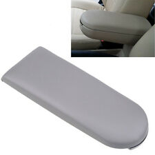 Gray PU Leather Center Console Armrest Cover Lid for VW Jetta Golf MK4 Beetle B5