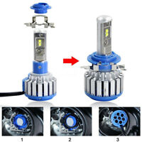 2x Car H7 Canbus LED Lamp Headlight Kit Cool White40W 8000LM Beam Bulbs 6000K YR