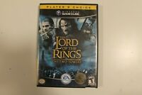 The Lord of the Rings The Two Towers! GameCube!