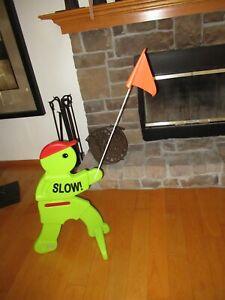 Step2 Kid Alert Outdoor Slow Down Visual Safety Child Warning Signal Playground