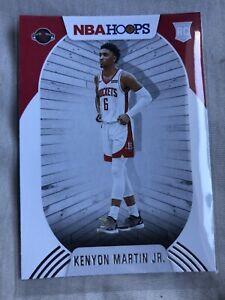 🏀🏀Kenyon Martin Jr RC Base 2020-2021 Panini NBA Hoops First NBA Rookie🏀🏀