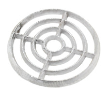 "Cast Alloy Aluminium Round Gully Grid Man Hole Grate Drain Cover 6"" 7"" 8"" 176 X 10mm"