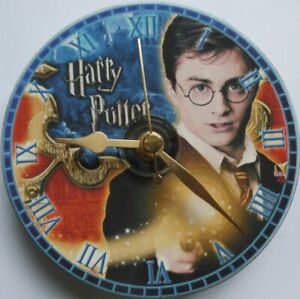 Harry Potter gift CD clock Silent non ticking plus stand