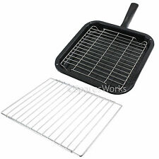 Extendable Shelf & Small Square Grill Pan Rack for Prima Oven Cooker