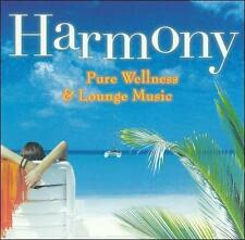 Various Artists : Harmony: Pure Wellness & Lounge Music CD