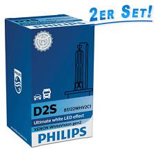 Philips D2S 85V 35W WhiteVision gen2 5000K Xenon Lampe 85122WHV2C1  2erSet