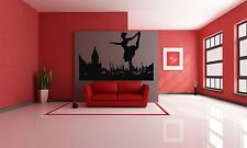 Wall Room Decor Art Vinyl Sticker Mural Decal Ballet Dance Women Ballerina FI336