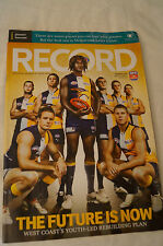 AFL Footy Record - 2010 - The Future is Now.