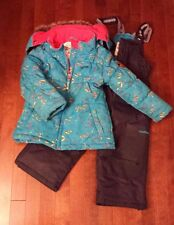 Girls OshKosh Winter Coat and Snow Pants Snow Suit Size 4T Winter Wear