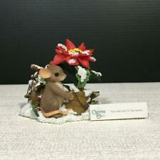 Charming Tails 87/156 You Add Color To The Season Resin Mouse Figurine Mib