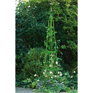 Garten Rankhilfe Obelisk Klettersäule Rosensäule Rankgitter Rosensäule Pyramide