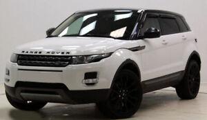 Window Visors WeatherShields weather shields Land Rover Range Rover Evoque 11-18
