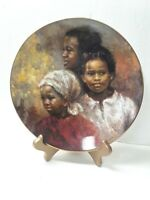 """NEW  """"A Brighter Day"""" by Royal Doulton 1978 8"""" collector plate"""