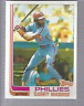 1982 Topps Philadelphia Phillies Baseball Card #20 Garry Maddox
