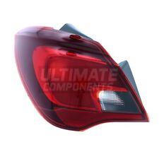 Vauxhall Corsa E Mk4 5 Door Hatchback 10/2014-> Rear Light Lamp Passenger Side