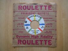Cathy Carr-Shy-1959 Roulette promotion label not for sale in NR-MT condition