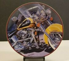 HARLEY DAVIDSON Collector's Plate Franklin Mint  #HA3533 The Iron Stinger