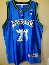 Kevin Garnett - Minnesota Timberwolves NBA Authentic Pro Cut Jersey Sz 52 NWT