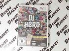 DJ HERO 1 * solo gioco * NINTENDO WII e WIIU U - PAL COMPLETO - COME NUOVO