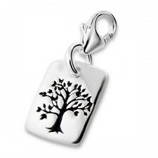 925 Sterling Silver Tree of Life Clip on Charm