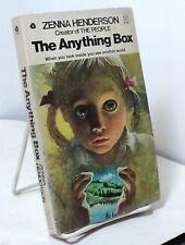 The Anything Box by Zenna Henderson - Avon 34579 - 1965