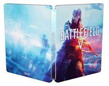 BATTLEFIELD V STEELBOOK XBOX PC PS4 - NEUF Blister/NEW Sealed (Sans jeu/No Game)