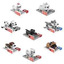 Doggie 8 Sets - ANSBRICK BLOCK PET. Building, Learning - Nanoblock compatible
