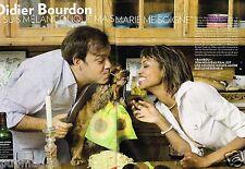 Coupure de presse Clipping 2009 (4 pages) Didier Bourdon