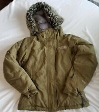 The North Face Womens XS Olive 550 Goose Down Jacket Winter Coat XS