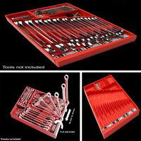 Tool Box Wrench Organizer Storage Holder Tool Sorter Socket Organizer Tray Rack