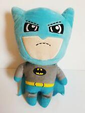 Cute Batman Plush Grey and Light Blue Yellow Belt