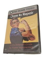 PBS Dare to Repair: A Do-It-Herself Guide to Home Improvement (DVD, 2004) NEW