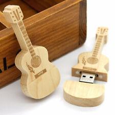 8Go USB 2.0 Clé USB Clef Mémoire Flash Data Stockage / Guitare Bois II