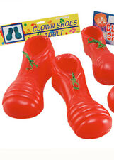 c30bc01facb Adult Size Large Bright Red Clown Shoes