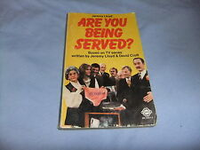 ARE YOU BEING SERVED TV SERIES JEREMY LLOYD 1978 MAYFLOWER  RARE  P/B