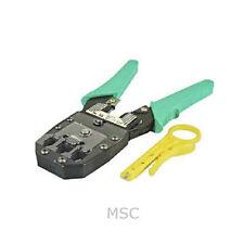 Rj45 Rj11 crimpadora arrugador crimping Tool Para Cable De Red, Herramientas De Corte