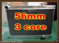 56mm 3 core High-Per Aluminum radiator Holden Torana LH LX UC Chevy V8