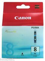 Canon original OEM foto cian cartucho de Tinta cli-8pc, CLI8