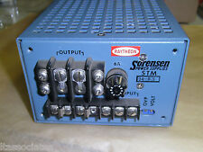 Sorensen POWER SUPPLY MODEL  STM 24-8.5 Used Output 19-25V 7A