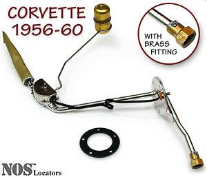 1956-60 Corvette Stainless Steel Fuel Tank Sending Unit NEW