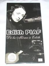 LONG BOX 4 CD / EDITH PIAF / DE LA MOME A EDITH / 1935-1951 / TRES BON ETAT